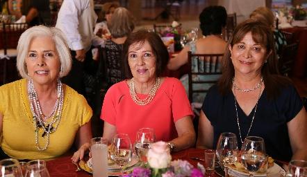Ana Rosa, Ángeles Matienzo y Lula Parodi.