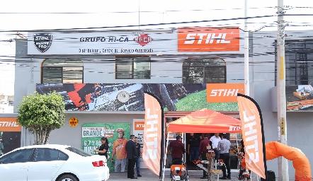 Inauguración de STIHL.