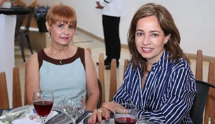 Isa Cabrera y Ana Luisa Acosta.