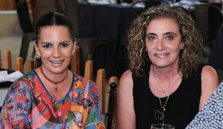 Lucy Martínez y María José Ojeda.