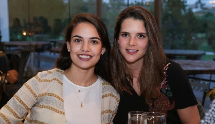 Marcela Díaz Infante y Jessica Martín Alba.