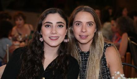 Isabella Zollino y Mariana Peña.