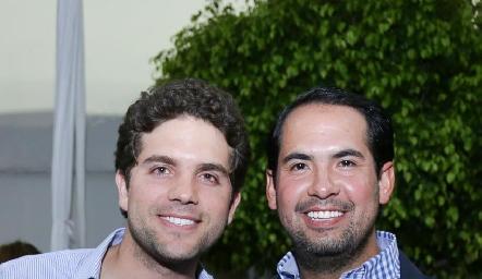 Federico Díaz Infante y Rafael Araiza.