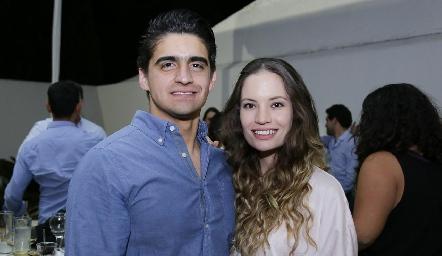 Daniel Valadés y Bárbara Portales.