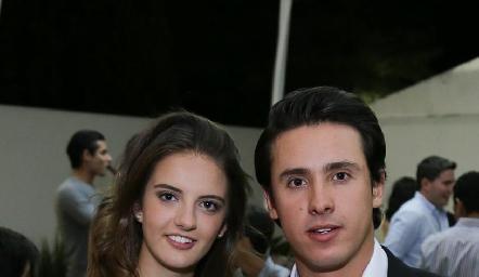 Melissa Meade y José Manuel Díaz Infante.