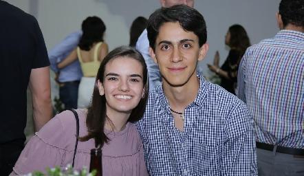 Begoña Meade y Carlos Román.