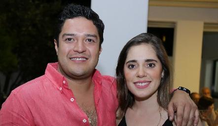 Raymundo Blanco y Sofía Ascanio.