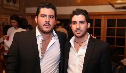 Emilio y Max Gómez Gaviño.