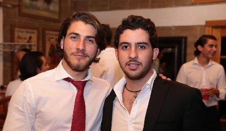 Juan Carlos Andrade y Max Gómez.