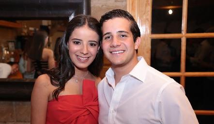 Daniela Navarro y Pablo Lavín.