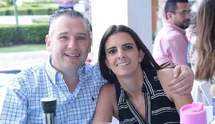 Héctor Galán y Daniela Rivero.