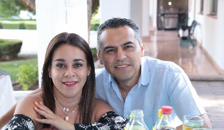 Margarita Torres y Jorge Suárez.