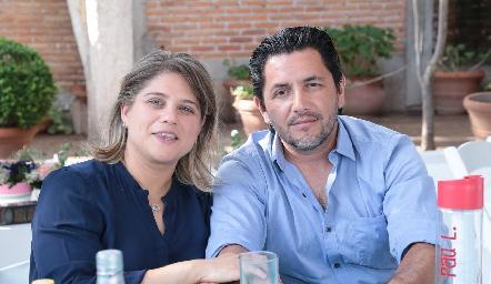 Amparo Santamaría y César Lobo.