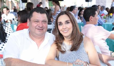 Luis Fernando Torrescano y Nuria Ejarque.