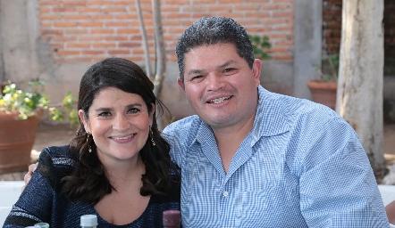 Ana María Vázquez y Oscar Tristán.