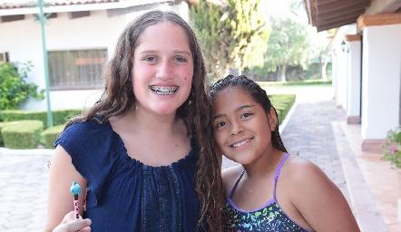 Kamila y Andrea.