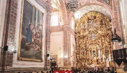 Templo de San Cayetano Confesor.
