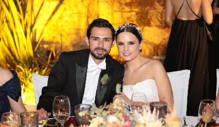Andrés Allende y Maite Soberón ya son esposos.