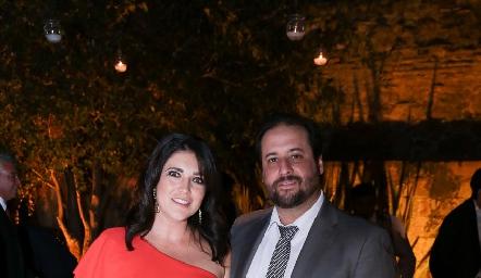 Mónica Moreno y Mauricio Vázquez.