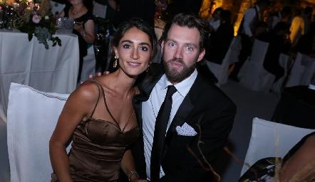 Mónica Serrano y Joshua Zabar.