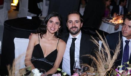 Alejandra Torres y Guillermo Romo.
