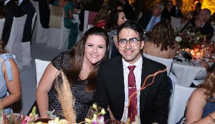 Renata y Alberto Cuevas.