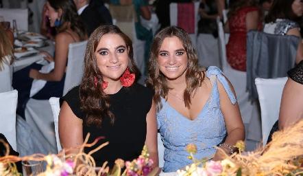 Jimena y María José Vigíes.