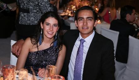 Daniela Mauricio y Mauricio Sánchez.