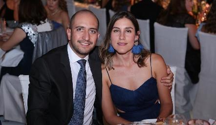 Diego Bocard y Sofía Villaseñor.