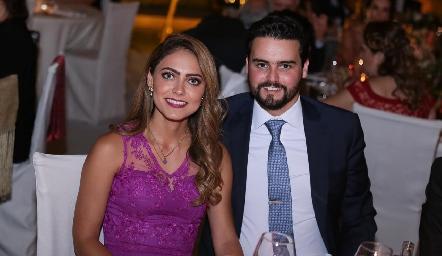 Elisa Ramírez y Rodrigo Labastida.