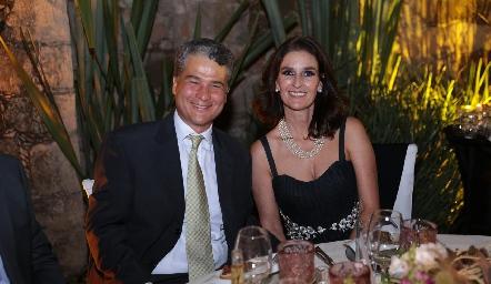 Mauricio y Marisol Martínez.