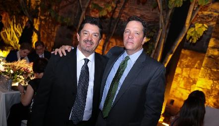 Dagoberto Castillo y Pedro Martínez.
