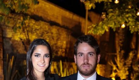 Paola y Andrés Aguirre.