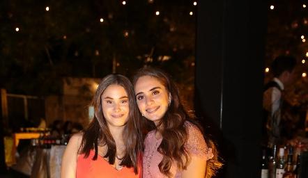 Alexia Revuelta y Ana Isabel Revuelta.