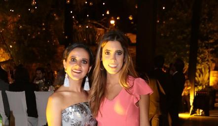Yolanda Aguillón y Daniela Güemes.