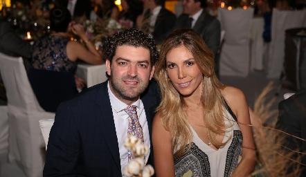 Mauricio Ruiz y Daniela Fernández.
