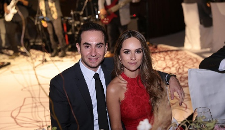 Francisco Padilla e Iliana Rodríguez.