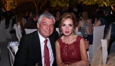 Gerardo Labastida y Rocío Mexicano.