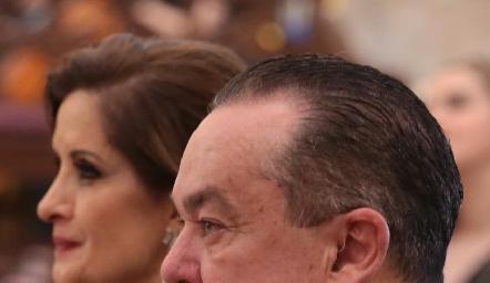 Padre de la novia, Agustín Soberón.