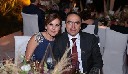 Elvira Martínez y Fernando Ríos.