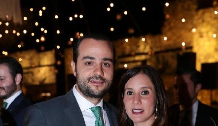 Sergio Madrigal y María Domínguez.