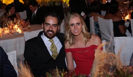 Rafael Olmos e Ingrid Velasco.