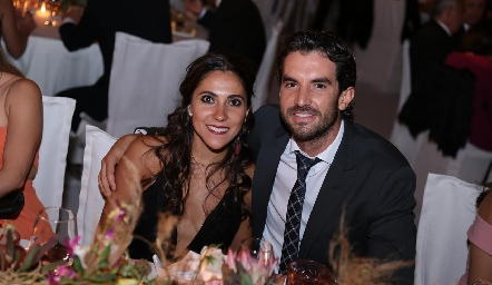 Daniela Díaz de León y Ricardo Torres.