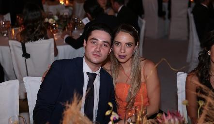 Roberto Zollino y Mariana Peña.