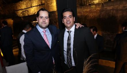 Andrés Mina y José Antonio Alonso Motilla.