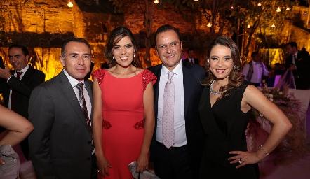 Christian Barbosa, Pilar Allende, Jaen Castilla y Mónica Cano.
