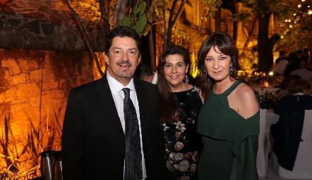 Dagoberto Castillo, Vera Villarreal y Tawi Garza.