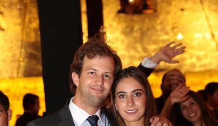 Alejandro Abud y Lore Andrés.