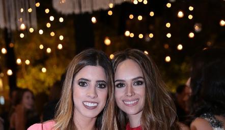 Daniela Güemes e Iliana Rodríguez.