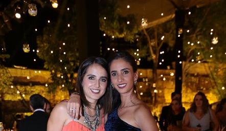 Daniela Ornelas y Melissa Andrés.